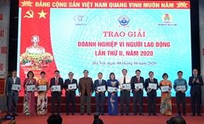 TCT May 10 vinh dự nhận nhiều giải thưởng tại Đại hội thi đua yêu nước ngành Dệt may
