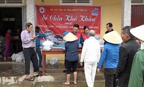 CBCNV May 10 hướng về Quảng Bình những ngày mưa lũ