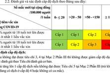 4 cấp độ 'thích ứng an toàn' với Covid-19 được quy định như thế nào?